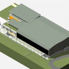 Maquette Architecturale BIM Gymnase Blagnac